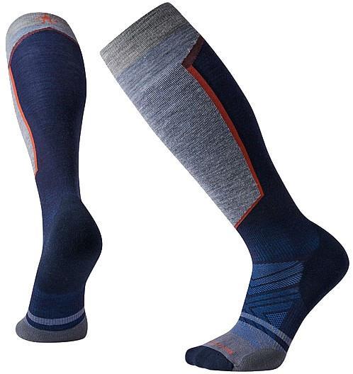 Smartwool PHD Ski Light Elite Ski Socks, M Deep Navy