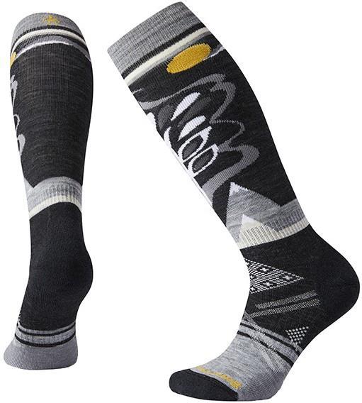 Smartwool PhD® Ski Medium Pattern Women's Ski Socks, M Black