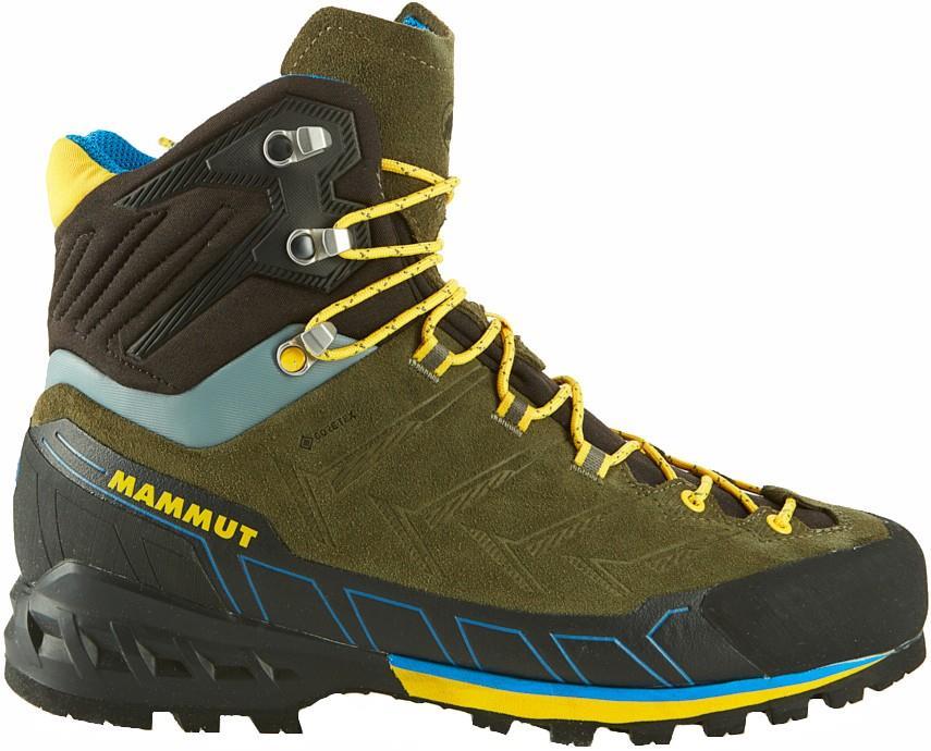 Mammut Adult Unisex Kento Tour High Gore-Tex Hiking Boots, Uk 9.5 Iguana/Freesia