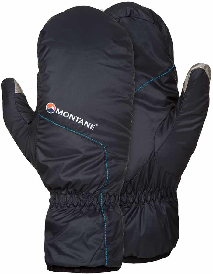 Montane Prism Insulated Packable Mittens S Black