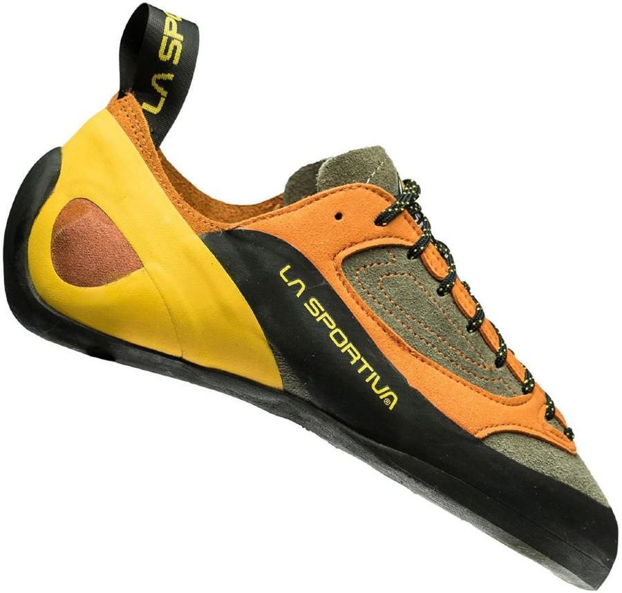 La Sportiva Adult Unisex Finale Rock Climbing Shoe, Uk 7.5+ | Eu 41.5 Brown/Orange