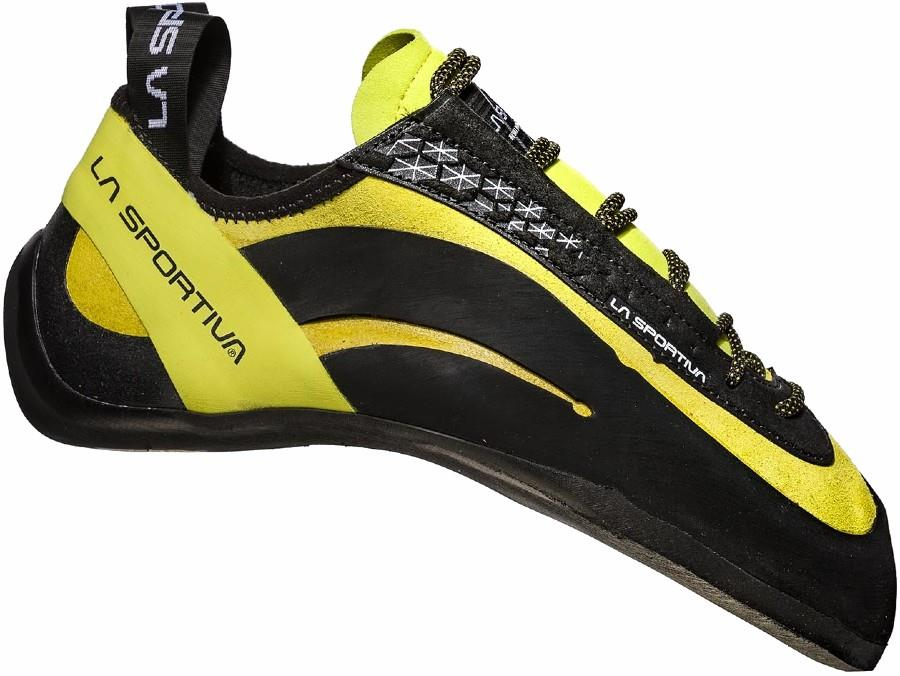 La Sportiva Miura Rock Climbing Shoe, Uk 4   Eu 37 Lime