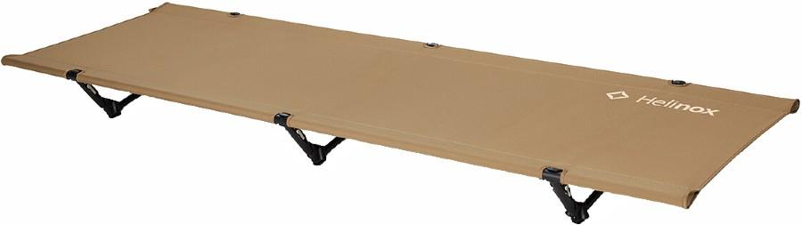 Helinox Cot One Convertible Lightweight Compact Camp Bed, Tan
