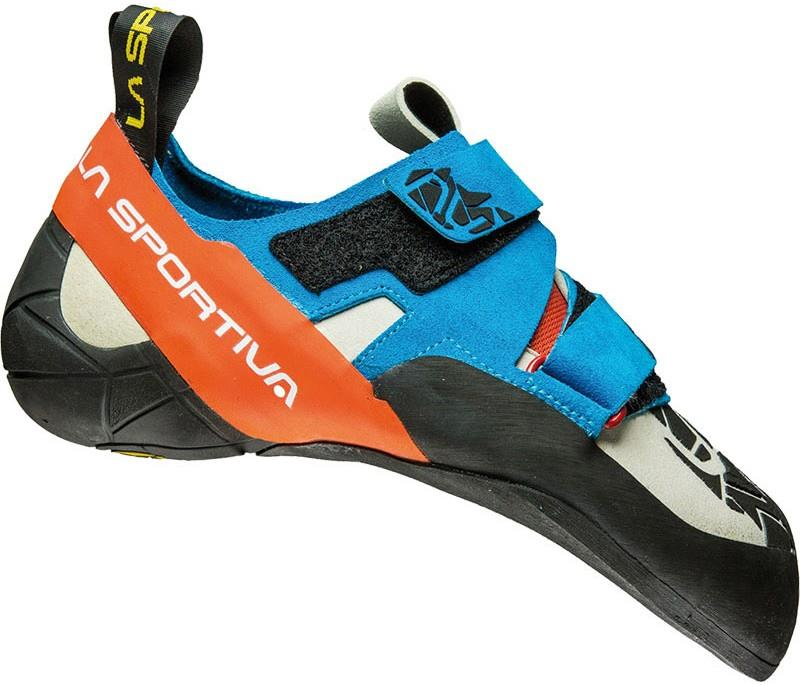 La Sportiva Otaki Rock Climbing Shoe : UK 11.5 | EU 46, Blue Flame