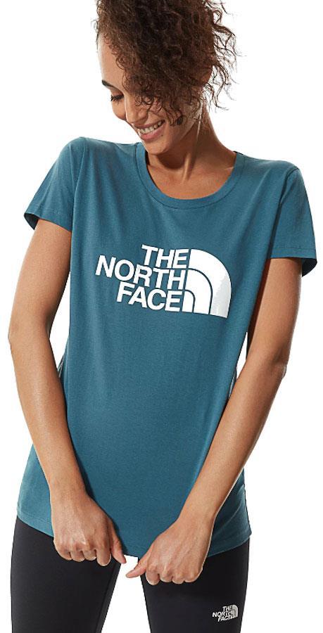 The North Face Short Sleeve Easy Women's T-shirt UK 14 Mallard Blue