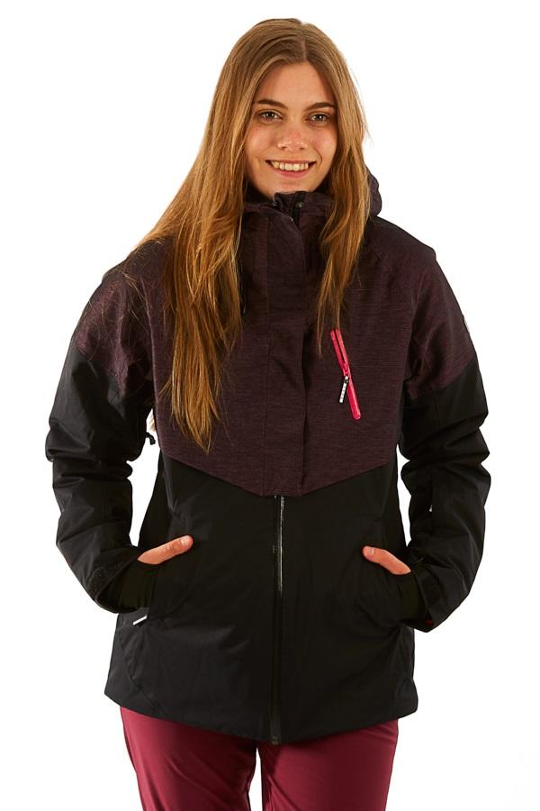 Roxy Frozen Flow Women's Snowboard/Ski Jacket, M True Black