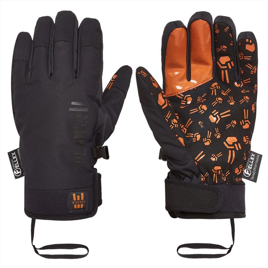 Planks Tweak Out Ski/Snowboard Pipe Gloves, S Army Green