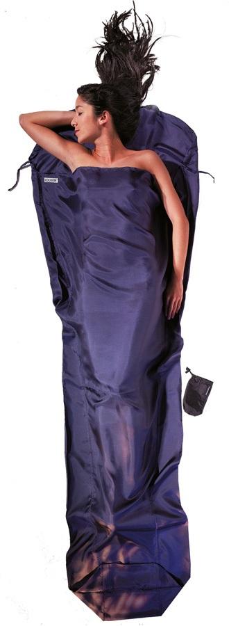 Cocoon MummyLiner Silk Ripstop Ultralight Sleeping Bag Liner, Tuareg