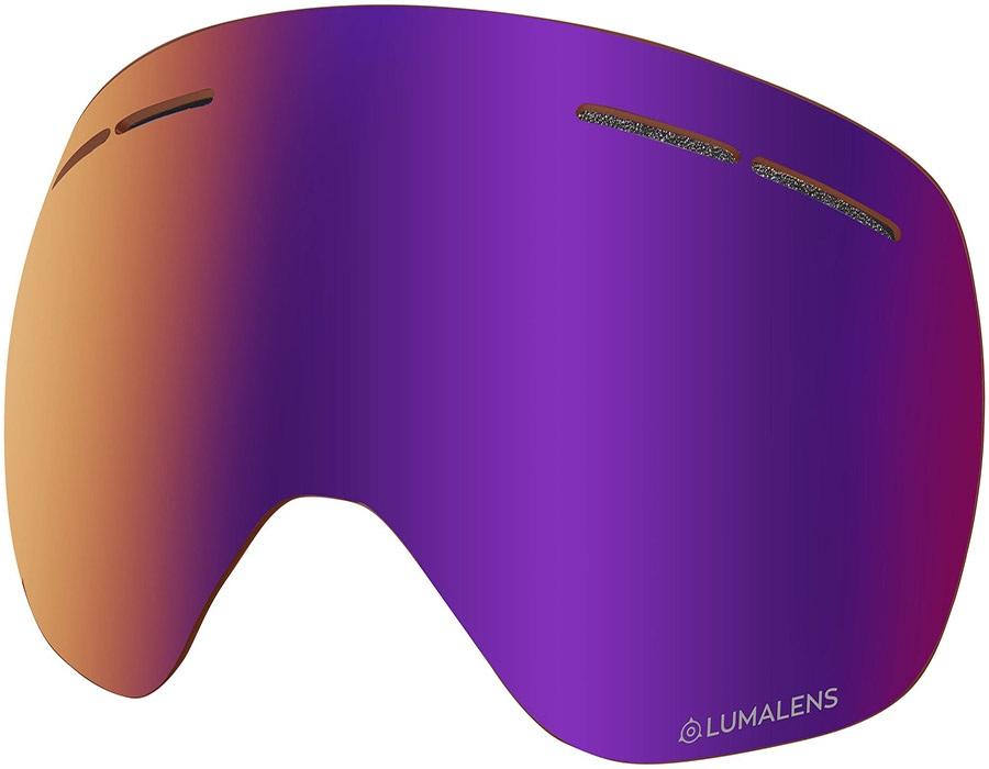 Dragon X1s Snowboard/Ski Goggle Spare Lens LumaLens Purple Ion