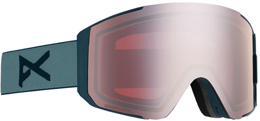Anon Adult Unisex Clutch Grey, Sonar Silver Ski/Snowboard Goggles, M