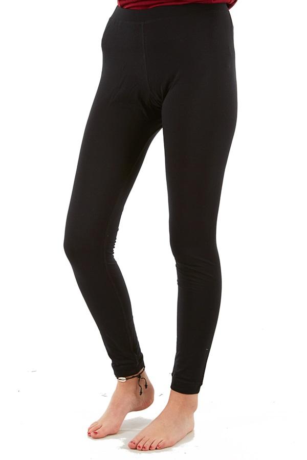 Silkbody Silkspun Legliner Women's Baselayer Leggings, M Black