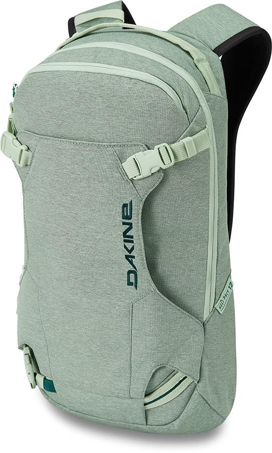 Dakine Heli Pack Women's Snowboard/Ski Backpack, 12L Green Lily