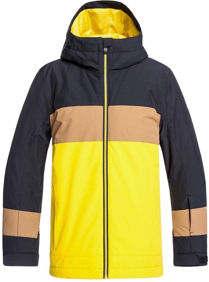 Quiksilver Sycamore Kid's Ski/Snowboard Jacket, Age 12 Black