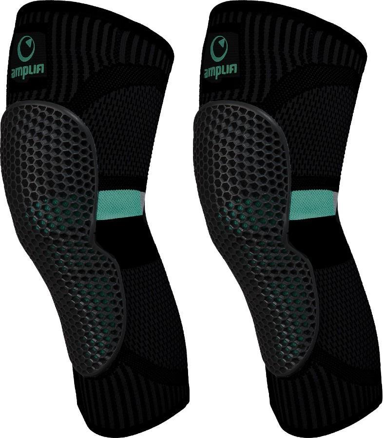 Amplifi MKX Ski/Snowboard Protection Knee Pads, M Black