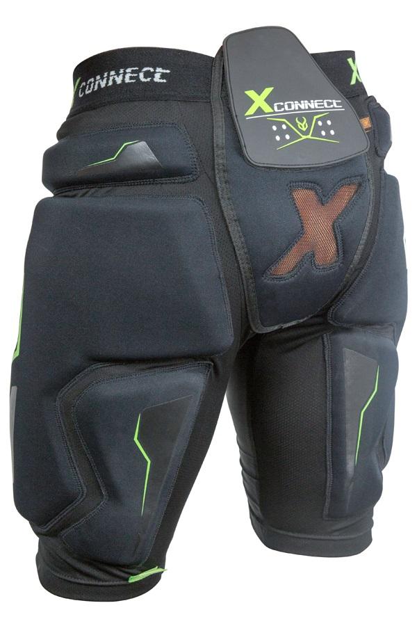 Demon X Connect XD3O Ski/Snowboard Impact Shorts, L Black