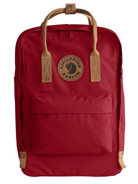 """Fjallraven Kanken No.2 Laptop 15"""" Day Pack/Backpack, 18L Deep Red"""