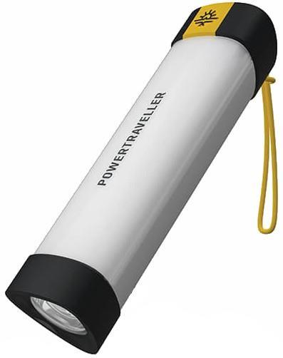 PowerTraveller Nighthawk 15 Torch Rechargeable Flashlight, 120 Lumens