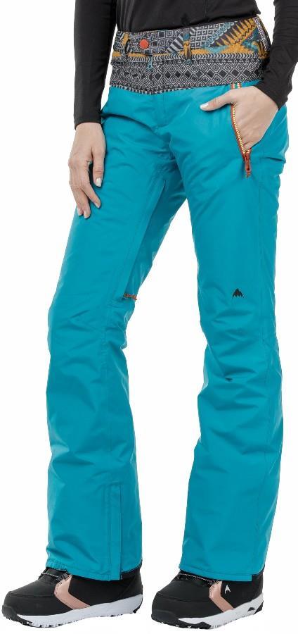 Burton Duffey Gore-Tex Women's Snowboard Pants Trousers, S Tahoe