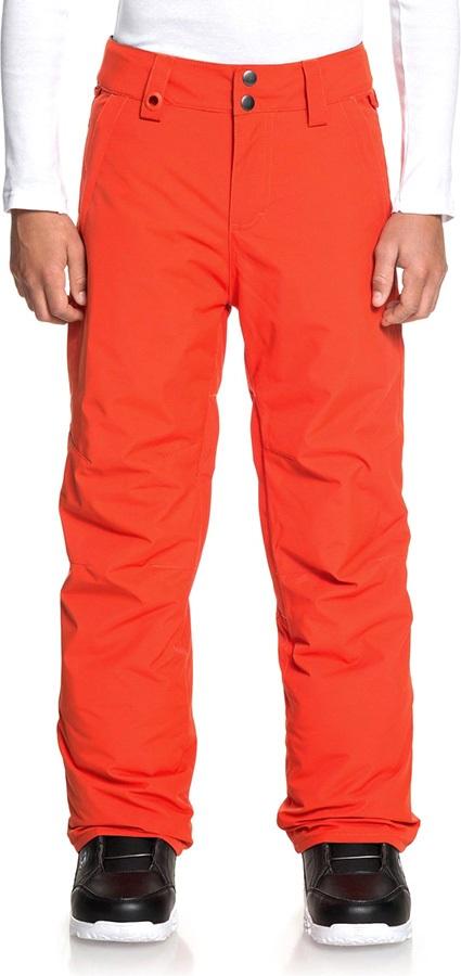 Quiksilver Child Unisex Estate Youth Ski/Snowboard Pants, Age 12 Poinciana