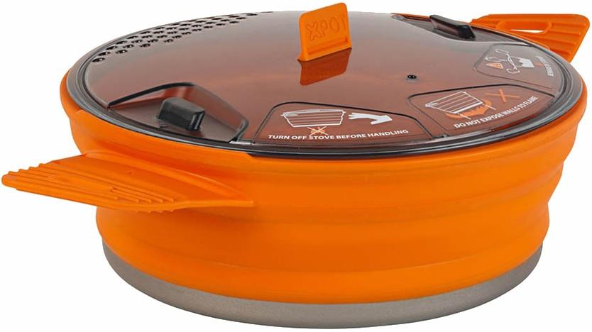 Sea to Summit X-Pot 1.4L Cooking Pot Camping Cookware 1.4L Orange