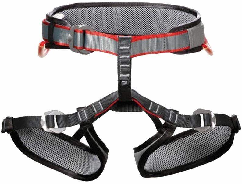 DMM Tomcat Kid's Rock Climbing Harness, One Size Grey/Red