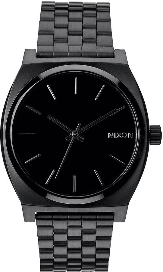 Nixon Time Teller Men's Analog Watch All Black