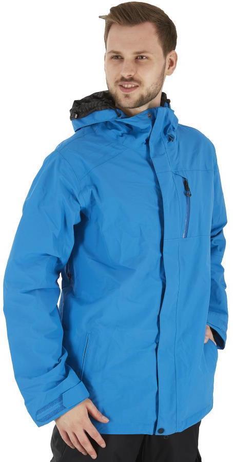 Volcom L Insulated Gore-Tex Ski & Snowboard Jacket, M Cyan Blue
