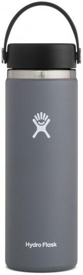 Hydro Flask 20oz Wide Mouth With Flex Cap 2.0 Water Bottle, Stone