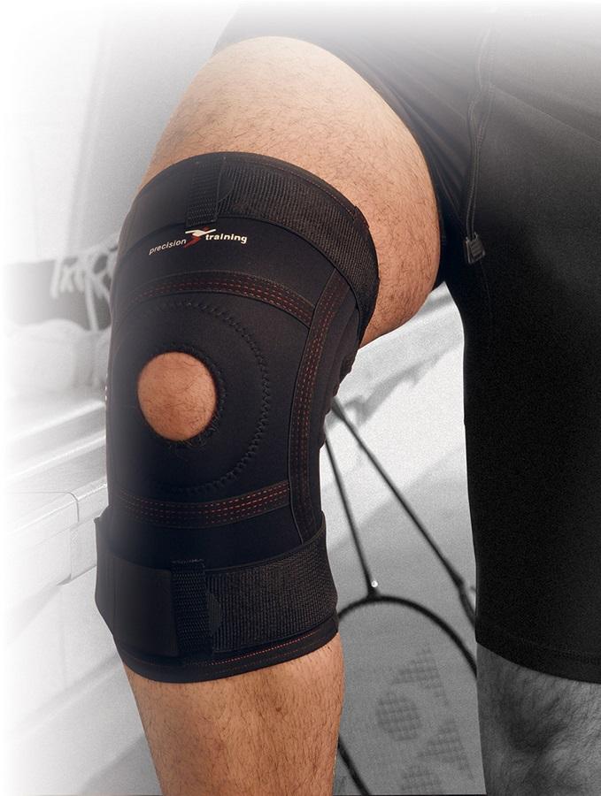 Precision Neoprene Knee Stabiliser M Black