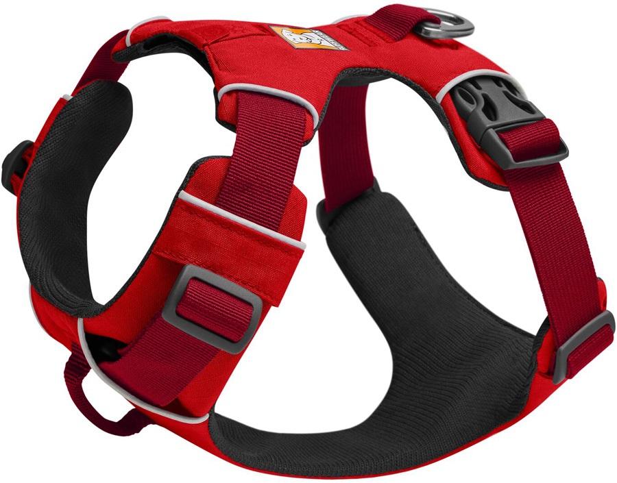 Ruffwear Front Range Harness Padded Dog Walking Harness, XS Red Sumac