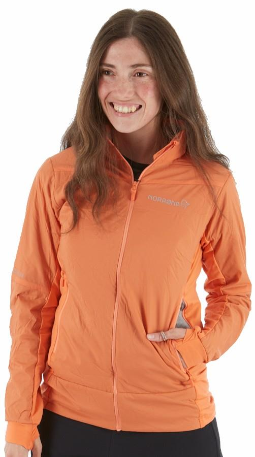 Norrona Womens Falketind Octa Women's Insulated Jacket, Xs Flamingo