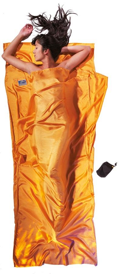 Cocoon TravelSheet Silk Sleeping Bag Liner, Sunset