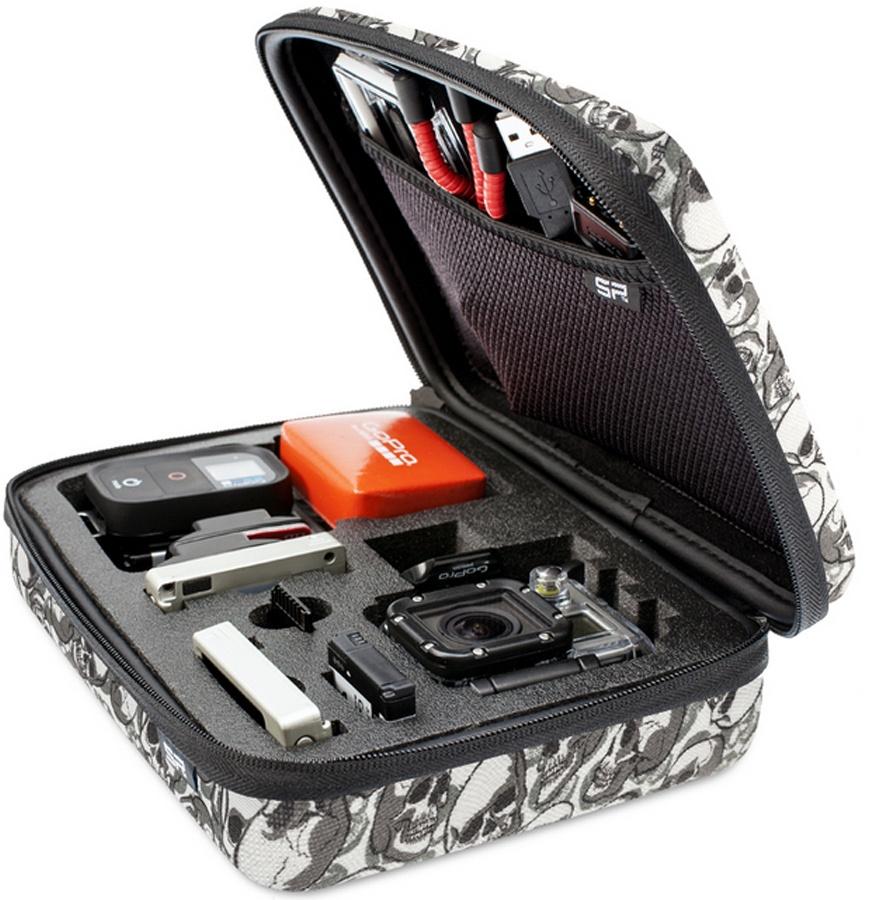 SP POV Case GoPro Hero Camera Carry Case, Skull