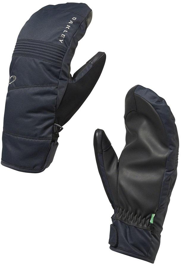 Oakley Roundhouse Mitt Ski/Snowboard Gloves, XS, Blackout