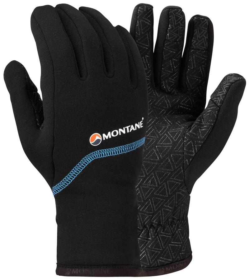 Montane Power Stretch Pro Grippy Men's Mountain Gloves, XL Black