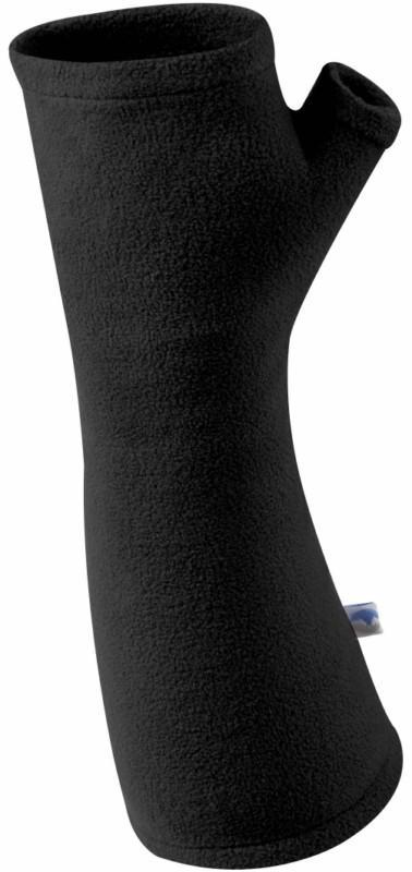 Manbi MicroFleece Wrist Warmers, L Black