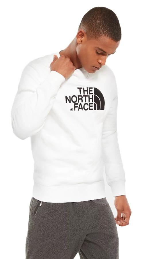 The North Face Drew Peak Crew Neck Pullover Sweater, L TNF White