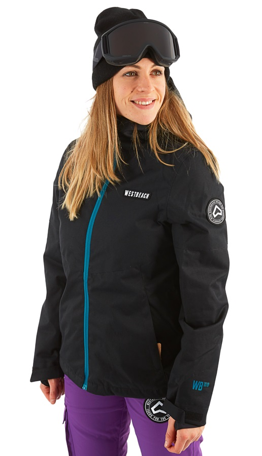 Westbeach Dover Women's Ski/Snowboard Jacket, XS Black