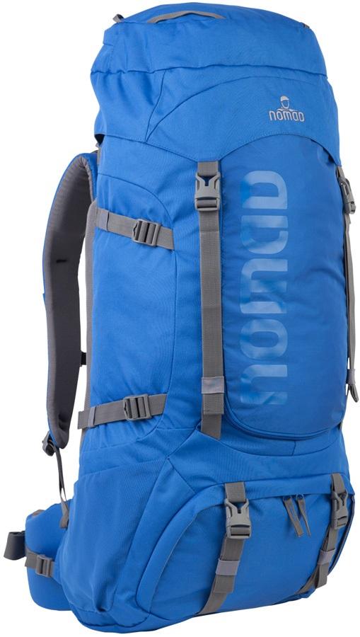 NOMAD® Adult Unisex Batura 70 Hiking & Trekking Backpack, 70L Olympian