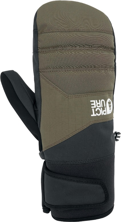 Picture Caldwell Snowboard/Ski Mitts, XL Army Green