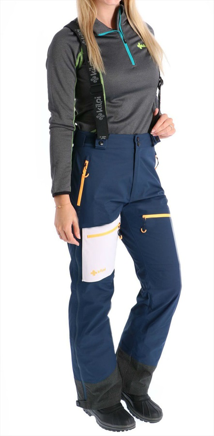 Kilpi Keku Women's Ski/Snowboard Pants, UK 8 Dark Blue