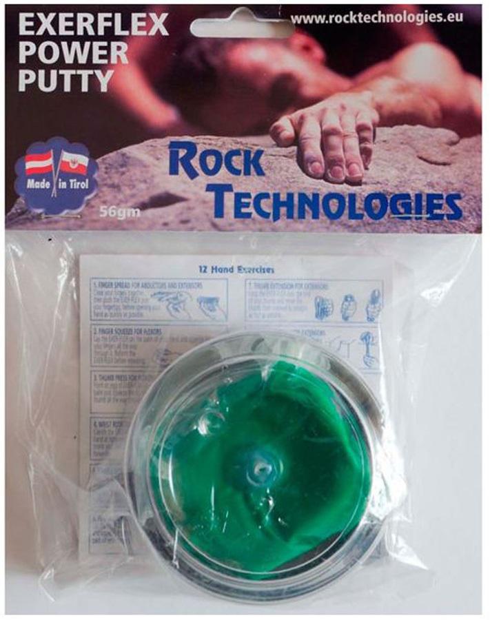 Rock Technologies Exerflex Power Putty Hand Exerciser, Green