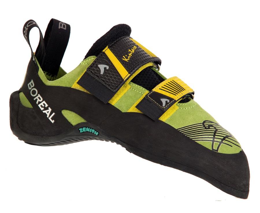 Boreal Kintaro Rock Climbing Shoe UK 6 | EU 39.5 Green/Yellow