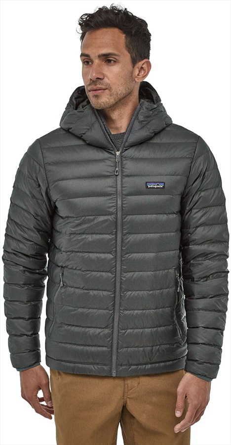 Patagonia Down Sweater Hoody Insulated Jacket, S Forge Grey