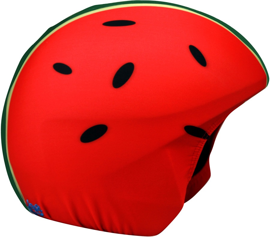 Coolcasc Printed Cool Ski/Snowboard Helmet Cover, Watermelon