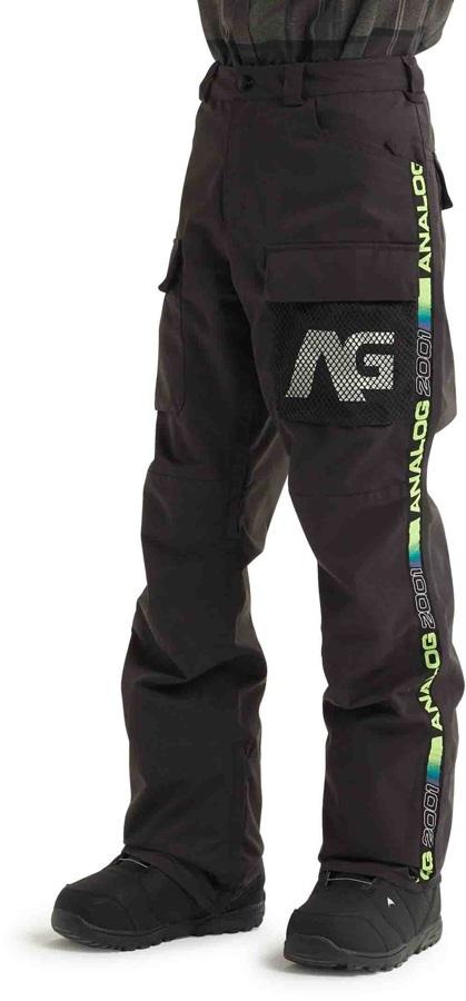 Analog Mortar Ski/Snowboard Cargo Pants, L Phantom