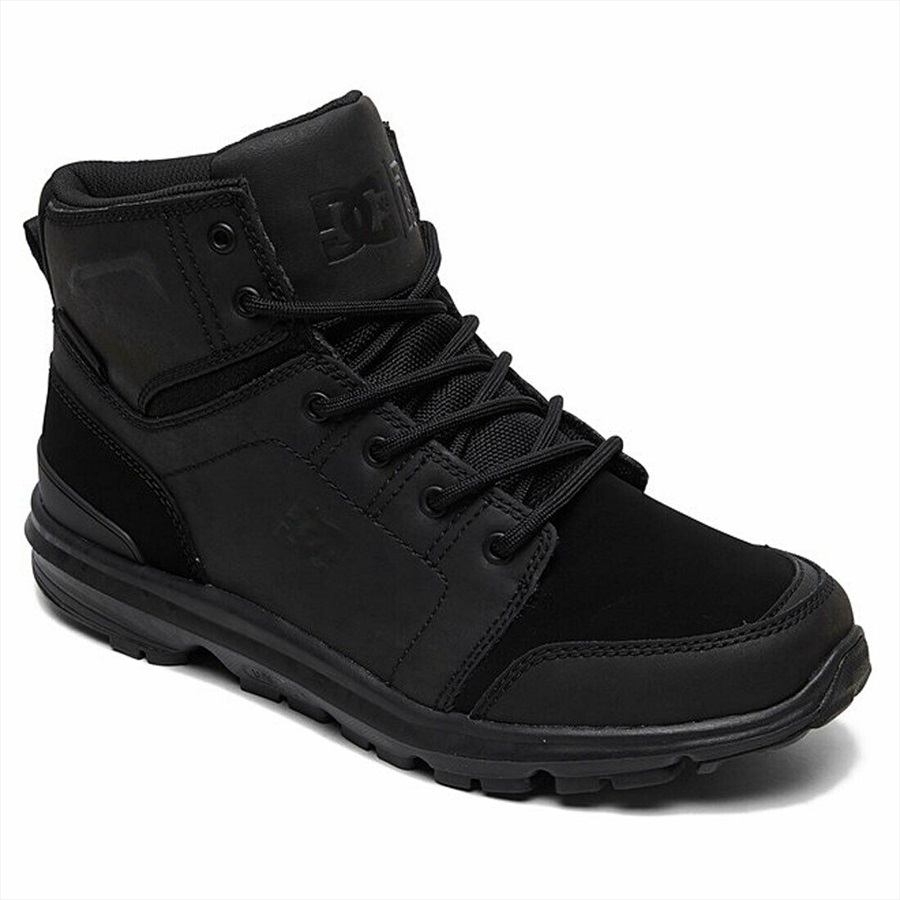 DC Adult Unisex Torstein Men's Winter Boots, Uk 8 Black/Black