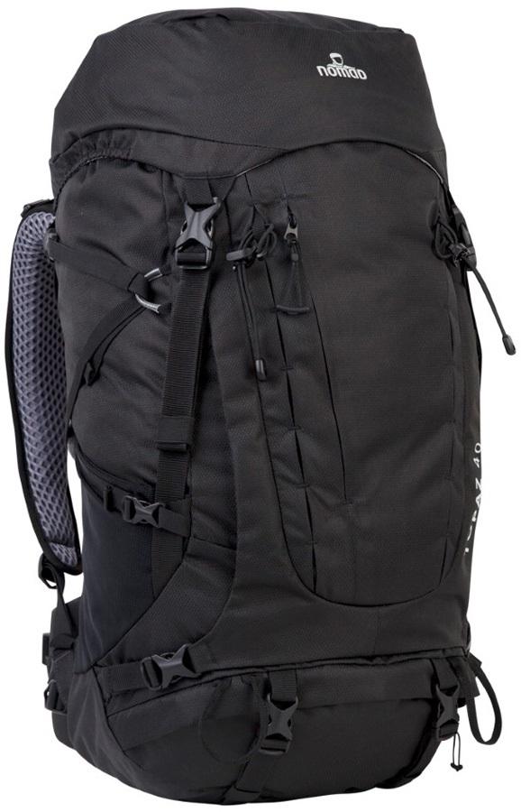 NOMAD® Adult Unisex Topaz 40 Backpack Trekking Pack, 40L Phantom