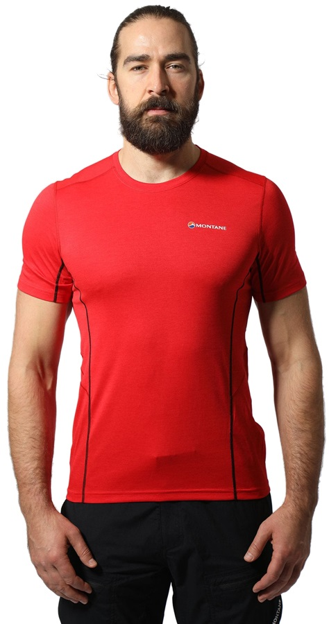 Montane Dart Technical Short Sleeve T-Shirt, S Alpine Red