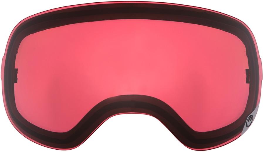 Dragon X1 Snowboard/Ski Goggle Spare Lens, One Size, Pink Ionized